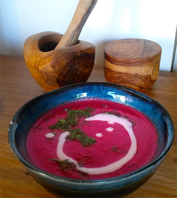 Beetroot and Fennel Soup